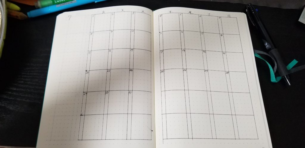 Notebook month